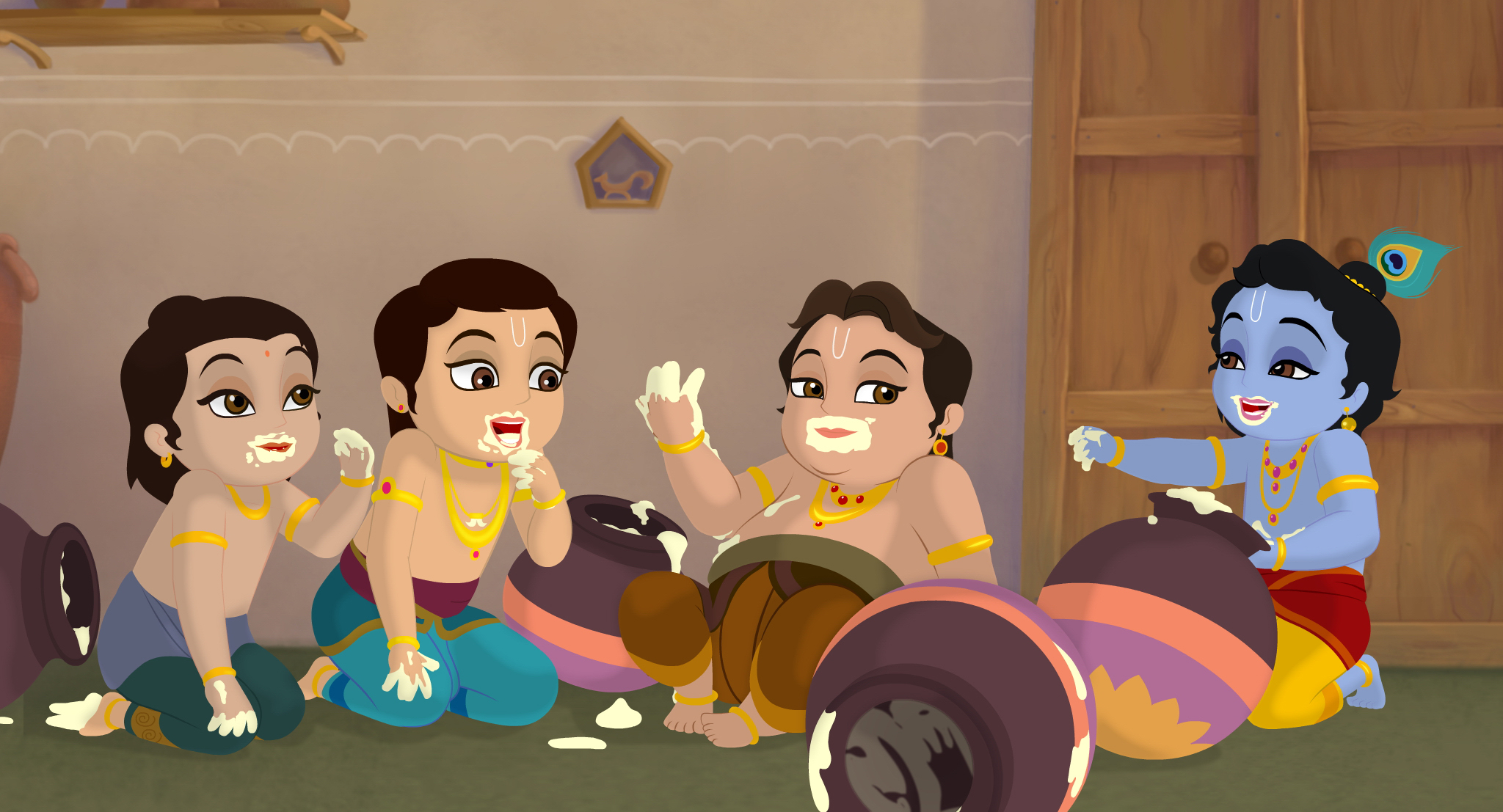 pic of lord krishna childhood