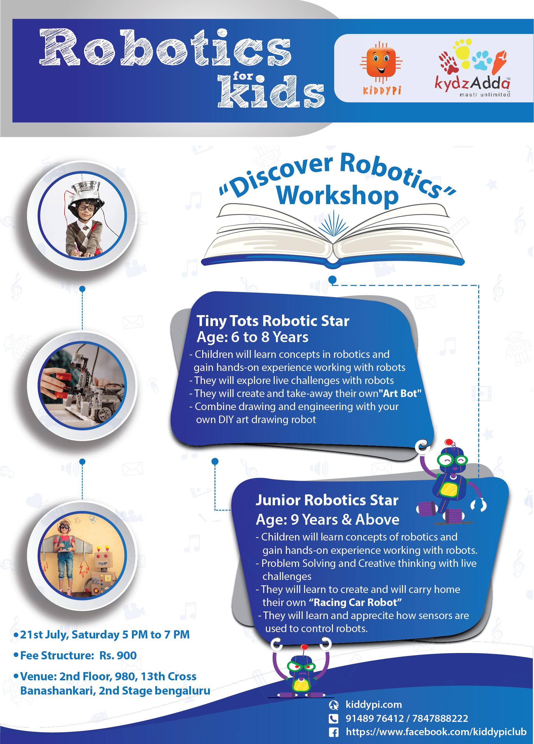 Discovery Robotics Workshop Kydz Adda